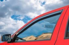 Deflektory okien Audi A8 2003-2010 (4 dvere, 4 diely)