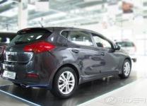 Bočné ochranné lišty Kia Ceed 2012- (hatchback)
