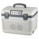 Autochladnička s ohrevom 19l (sivá)