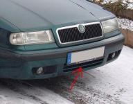 Zimná clona chladiča Škoda Felicia (dolná)