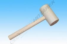 Gumová šúľky 1 kg (biela)