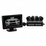 Parkovacie senzory s kamerou a LCD displejom