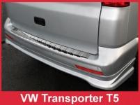 Ochranná lišta hrany kufra VW Transporter T5 2003-2015