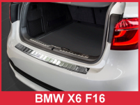 Ochranná lišta hrany kufra BMW X6 (F16) 2014