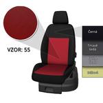 Presné autopoťahy Opel Vivaro 2014 (3 miesta)