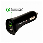 USB adaptér 2x + microUSB kabel (Quick Charge ...