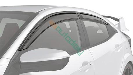 Deflektory okien Škoda Fabia II. 2007-2014 (5 dverí, 4 diely, combi)